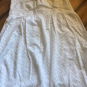 Lane Bryant Dresses - ❤️ Lane Bryant Eyelet Dress ❤️